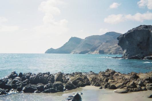 Costa del Cabo de Gata.