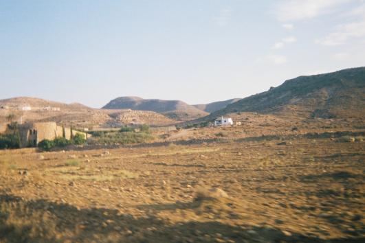 Paisaje del Parque natural del Cabo de gata - Níjar