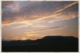 Anochecer en el Cabo de Gata
